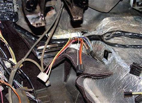 wiring and interior installation c3 corvette restoration