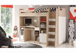 Hochbett Mit Schreibtisch Günstig : hochbett mit schreibtisch dekoration deko ideen ~ Frokenaadalensverden.com Haus und Dekorationen