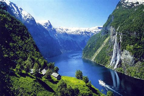 Un Crucero por los Fiordos Noruegos