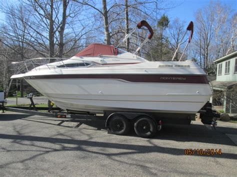 Used Monterey Boats For Sale In Michigan by 1995 Monterey 276 Cruiser Powerboat For Sale In Michigan