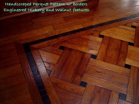 Hickory Plank & Parquet  Traditional  Hardwood Flooring