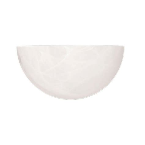 millennium lighting white alabaster sleek and unique wall sconce 521 the home depot