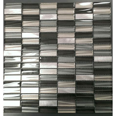 tiles bunnings johnson wall tile 238x328mm c coal glass mosaic bunnings