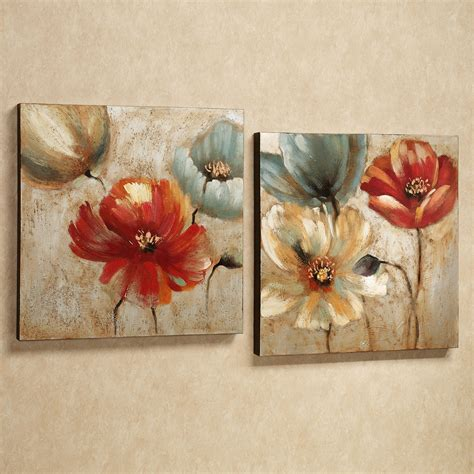 Wall Art Designs Canvas Floral Wall Art Flowers Paintings