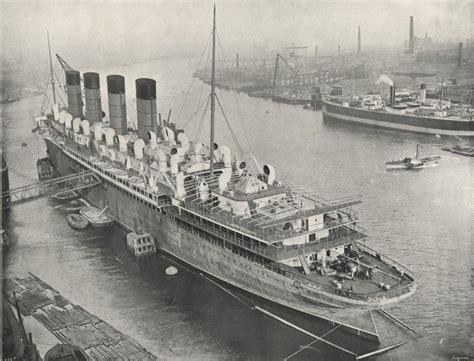 Cunard Atlantic Liner ? R.M.S.Mauretania ? Northumberland