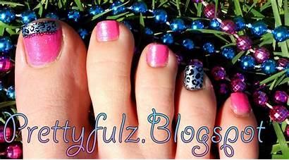 Pedicure Pink Spring Nail Bright Designs Konad