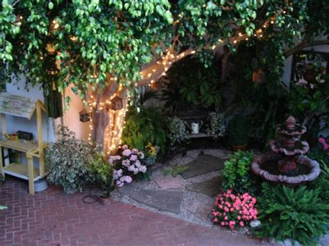 The Gardens At Night, From Our Balcony  Picture Of Garden