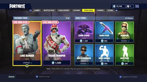 medic skins  love ranger daily item shop today