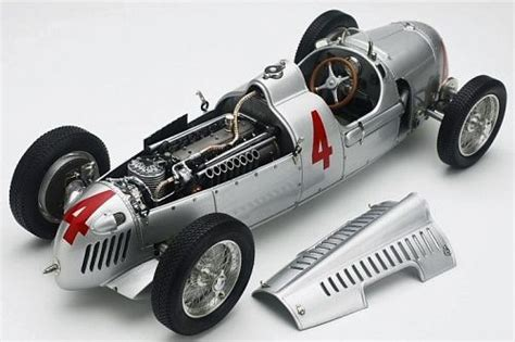 Auto Union Type C, 1936 Limited Edition With Starting