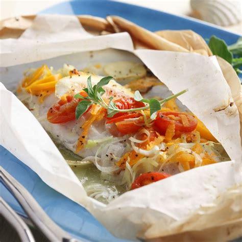 cuisine papillote recette papillote de poisson à la provencale facile rapide