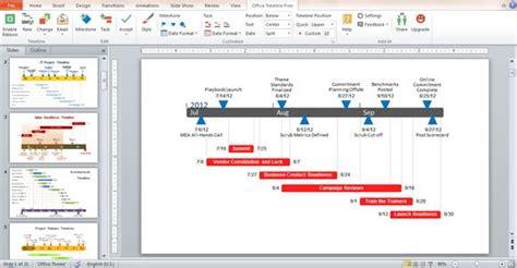 office timeline add   powerpoint powerpoint