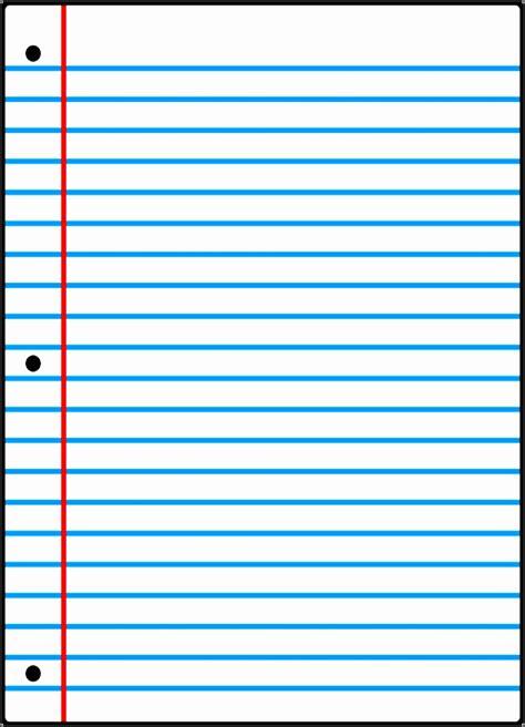 notebook paper template  word sampletemplatess
