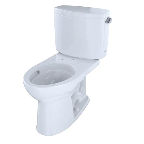 Toto Drake 2piece 16 Gpf Single Flush Elongated Toilet