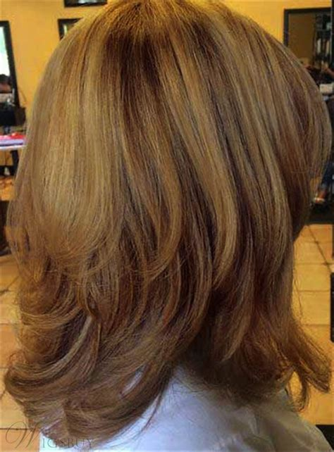 mendes bob hairstyles layered synthetic hair mid length