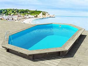 bien liner piscine hors sol octogonale bois 12 piscine With liner piscine hors sol octogonale bois