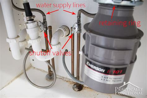 kitchen sink water supply lines how to install a kitchen faucet 8566