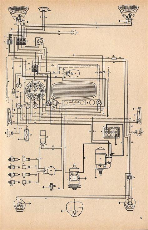 1970 vw karmann ghia wiring diagram 1970 vw type 3 wiring
