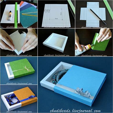 diy easy  pretty gift box icreativeideascom