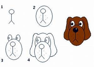 How To Draw A Dog Face Easy - ClipArt Best