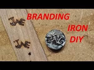 Homemade Wood Branding Iron DIY Wood Burning - YouTube