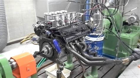 banco prova motore cosworth dfv v8 f1 prova motore al banco