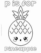 Pineapple Coloring Clip Kawaii Freebie Sheets Clipart Adult sketch template