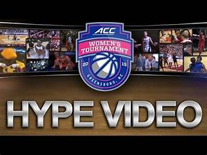 ACC Women's Basketball Tournament Hype Video - YouTube