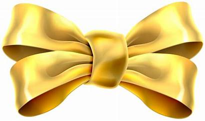 Gold Bow Clip Clipart Transparent Ribbons Yopriceville