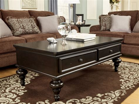 The woods coffee {with friends}. Classic Dark Wood Coffee Table