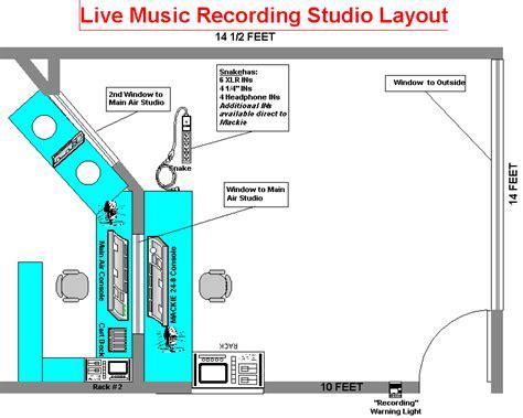 studio layout live air studio layout wtju