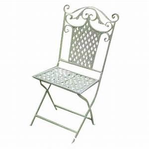 Chaise De Jardin En Fer : chaise de jardin en fer forg les jardins de valcrisse ~ Teatrodelosmanantiales.com Idées de Décoration