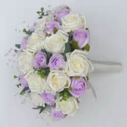 Rose and Lilac Wedding Bouquet