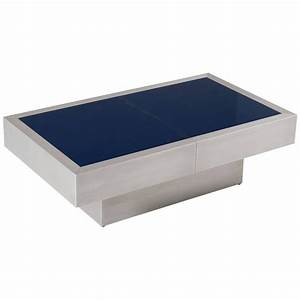 extendable cocktail table with blue glass top for sale at With blue glass top coffee table