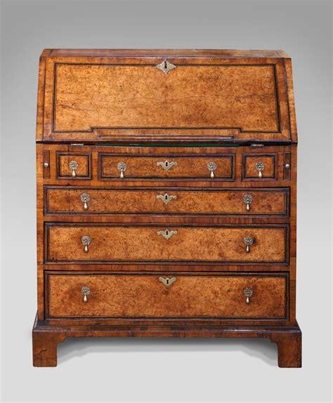 bureau secretaire antique antique walnut bureau early walnut bureau georgian