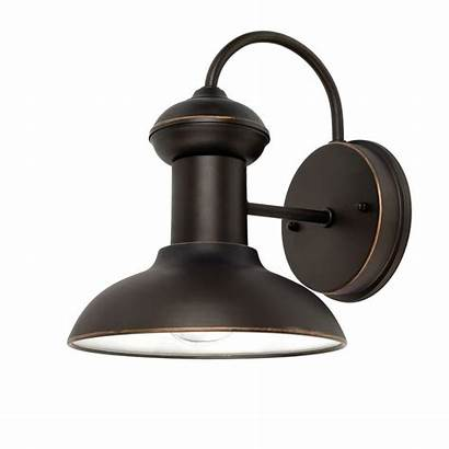 Bronze Outdoor Oil Rubbed Electric Globe Sconce