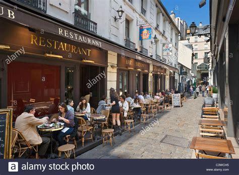 cuisine st andre sidewalk restaurant on the cour du commerce st andre