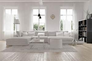 Vorhänge Skandinavischer Stil : hell freundlich modern skandinavisch wohnen ~ Markanthonyermac.com Haus und Dekorationen