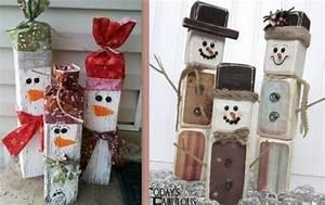 Décoration Fait Maison : de jolis bonhommes de neige faits maison page 2 ~ Carolinahurricanesstore.com Idées de Décoration