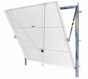 Porte de garage basculante for Porte de garage basculante pour modele de porte exterieur en pvc