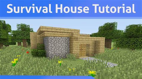 small survival house tutorial minecraft xbox psxb