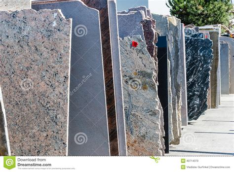 granite slabs stock photo image 40714370