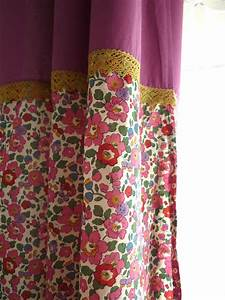 rideau liberty With déco chambre bébé pas cher avec robe tissu fleuri