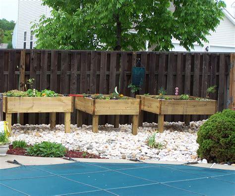 Elevated Garden by Raised Garden Bed On Legs