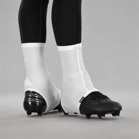white powder spats cleat covers sleefs