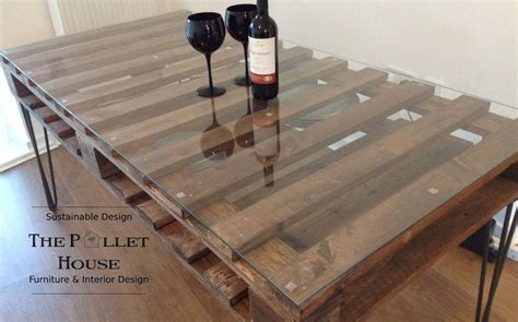 dining room table made of salvage pallet diy how to