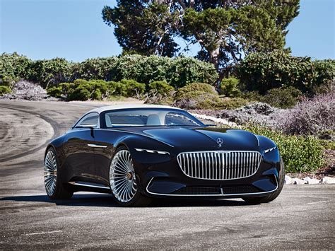 Mercedes BenzCar : The Vision Mercedes-maybach 6 Cabriolet Rejects The Pod