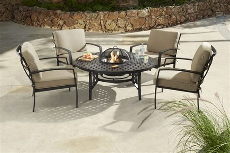 furniture table ls 2017 oliver contemporary 4 seater pit set