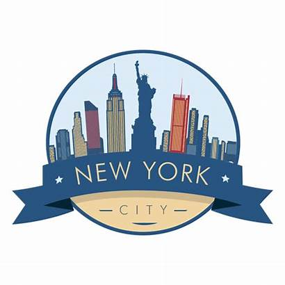 York Skyline Transparent Silhouette Nueva Liberty Symbol