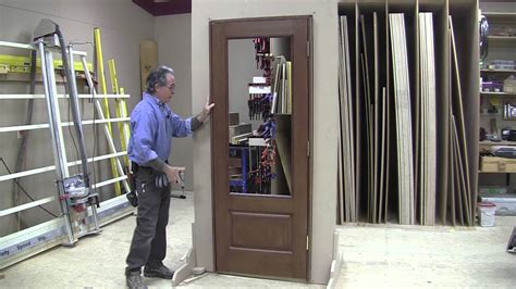 Installing Problemfree Prehung Doors Youtube