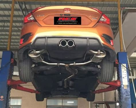 possibility  center exhaust  hatchback